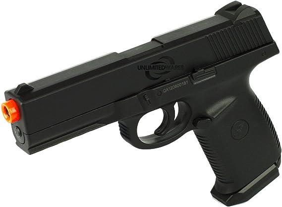 DOUBLE EAGLE M27 AIRSOFT SPRING HAND GUN PISTOL w/ LOCKING SLIDE BBs BB