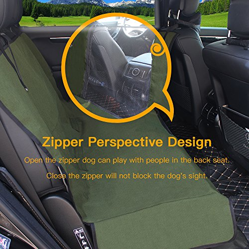 Dog Seat Cover Car Seat Covers for Pets With Storage bag- Nonslip Backing, 600D Waterproofand Hammock Style Easy to Clean and Install for Cars, Trucks and Suv's by YonRui (Image #1)