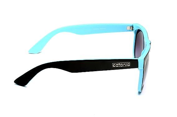 bcc7716eb7 Catania Occhiali Gafas de Sol Polarizadas - Estilo: Wayfarer Classic  (UV400) - Incluye