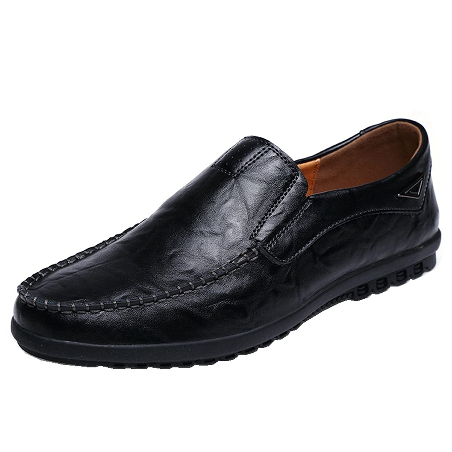 Men's Premium Genuine Leather Penny Slip On Loafer Casual Driver Shoes