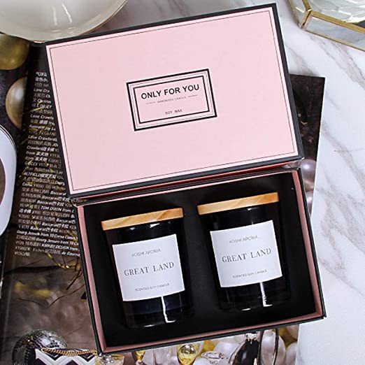 Vela Vela perfumada Caja de Regalo Dormitorio Aceite ...