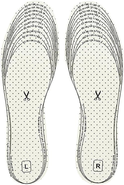 Kaps Soletta per scarpe: plantare antiodore in lattice e