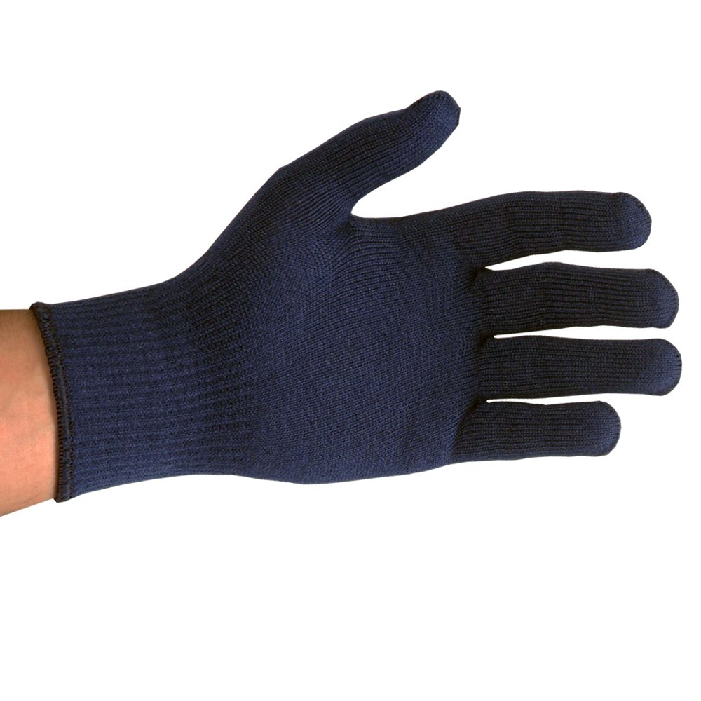 UltraSource Insulating Cold Weather Gloves with Knit Wrist, Blue (Pack of 12) by UltraSource
