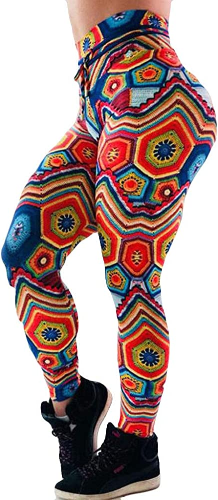 Pantalones Yoga Mujeres Ancho Leggings Turquesa PáNtalones Mujer ...