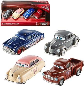 Mattel Disney Pixar Cars 3 - Racing Legends 4 Pack: Amazon.es: Juguetes y juegos
