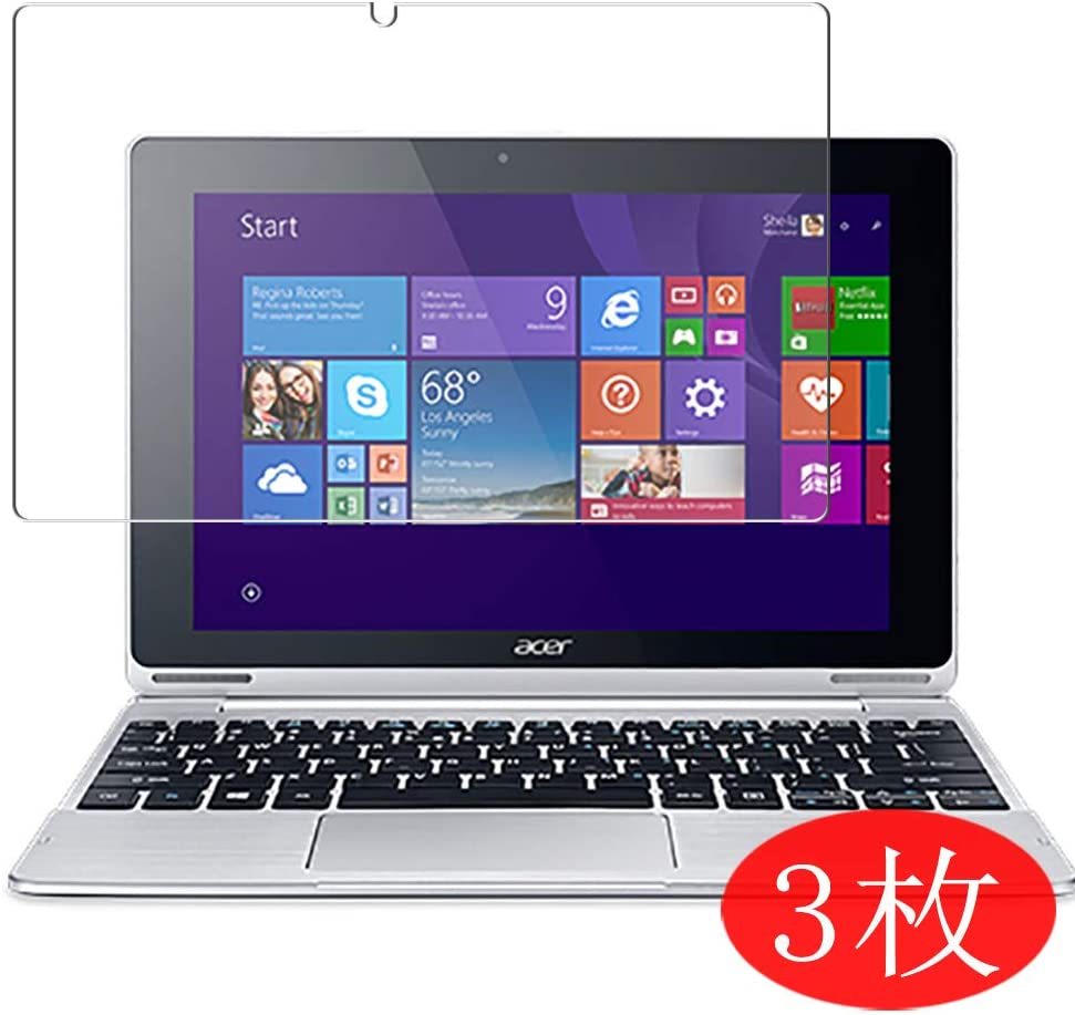 "【3 Pack】 Synvy Screen Protector for Acer Aspire Switch 10 SW5-015 10.3"" TPU Flexible HD Film Protective Protectors [Not Tempered Glass]"