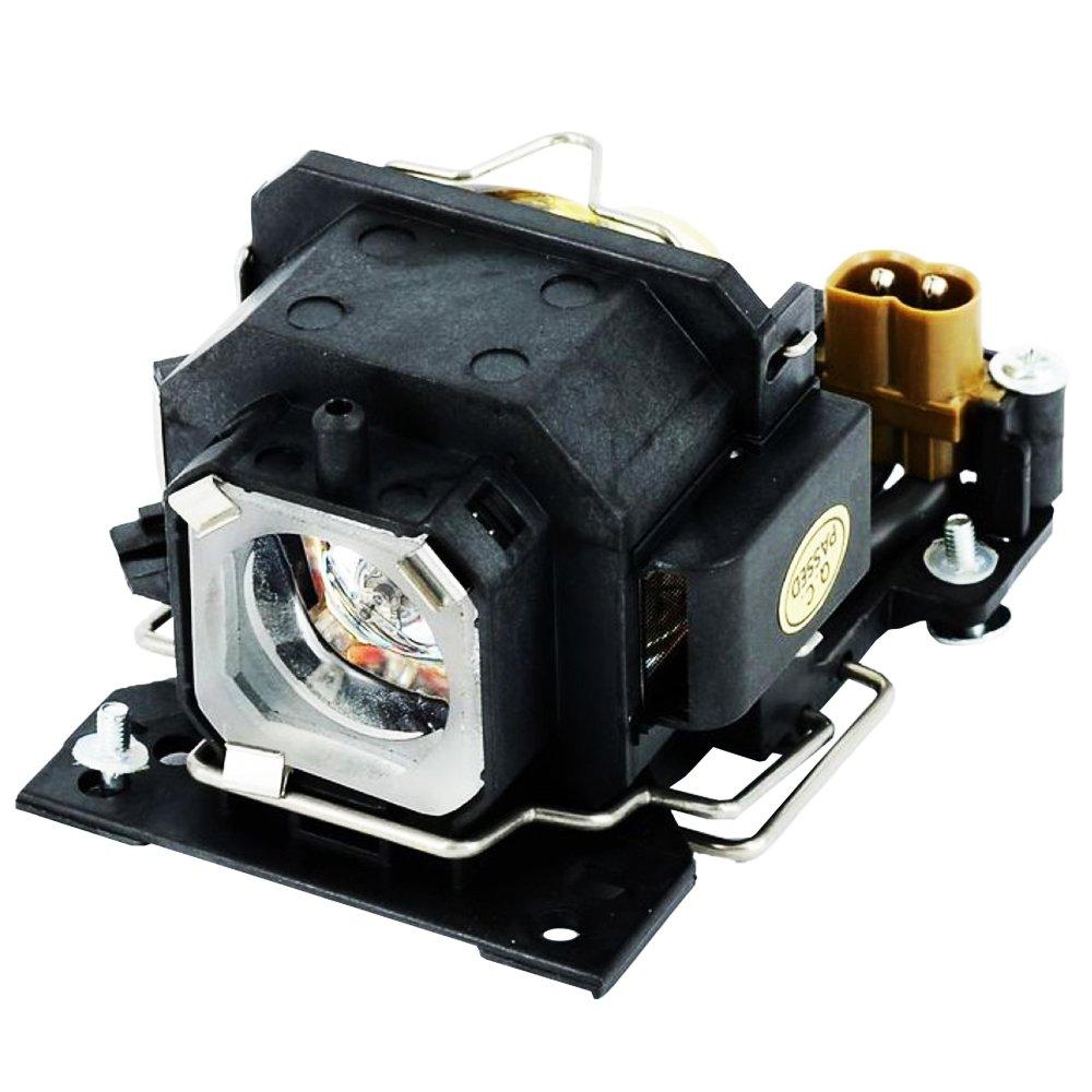 Molgoc DT00781 - Bombilla de Repuesto para proyector con Carcasa Compatible con HITACHI CP-RX70/X1/X2WF/X4/X253/X254, ED-X20EF/X22EF, MP-J1EF DT00781-CM-MS