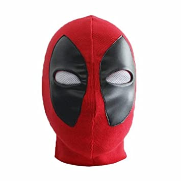 Deadpool Halloween máscara Headwear de Cosplay para fiestas Máscara de Spandex Adulto