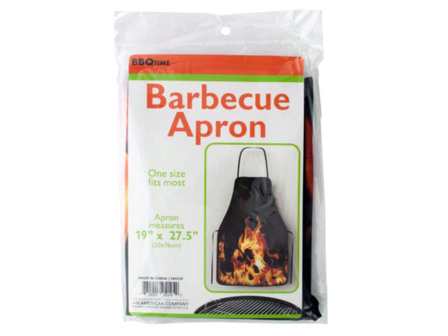 Amazon.com: Barbecue Apron with Flame Design - Set of 24 ...