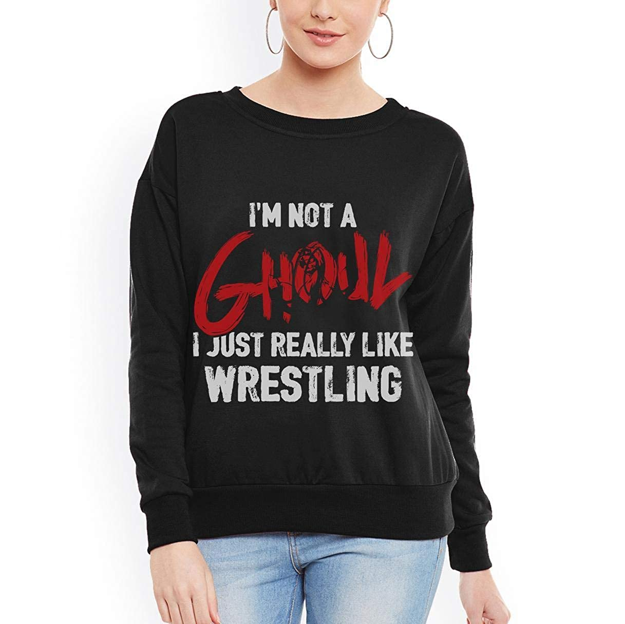 Wrestling I AM NOT A Ghoul Unisex Sweatshirt tee