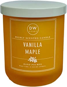 DW Home Vanilla Maple Scented Candle
