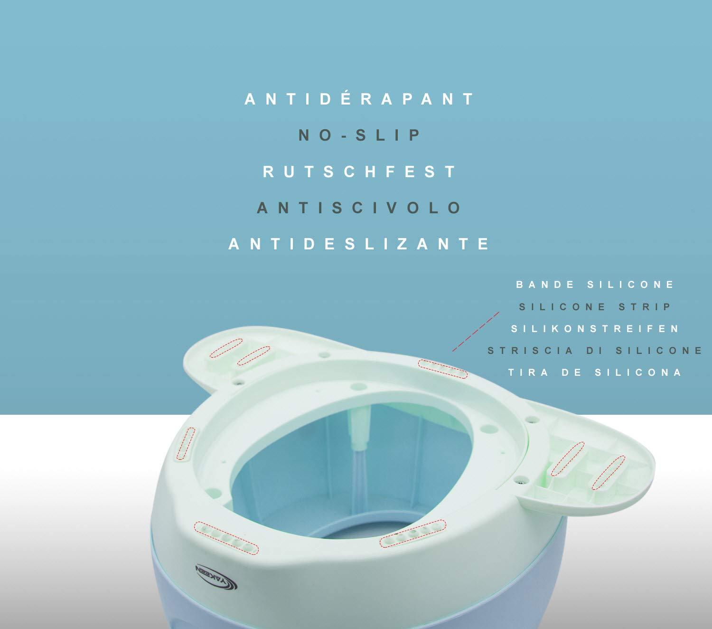 YAKEEN WC kindersitz toilettensitz kinder Kindertoilette Babytoilette T/öpfchen t/öpfchentrainer topf f/ür baby m/ädchen und Jungen Blau