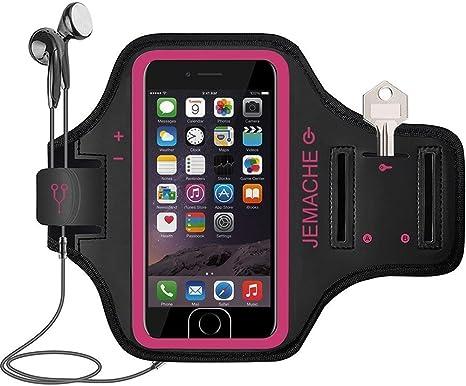 JEMACHE iPhone 6/6S/7/8 Plus Brazalete, Dactilares Touch Apoyo ...