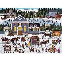 Buffalo Games - Charles Wysocki - Churchyard Christmas - 1000 Piece Jigsaw Puzzle