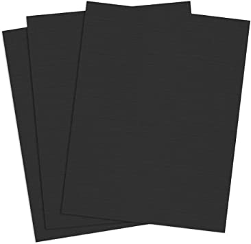 12 Mil Letter Size Window Cut Square Corners Matte Navy Eco Friendly 100 Pack Linen Weave Paper Binding Covers