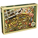 Cobble Hill Fishing Lures, 1000-Piece Puzzle