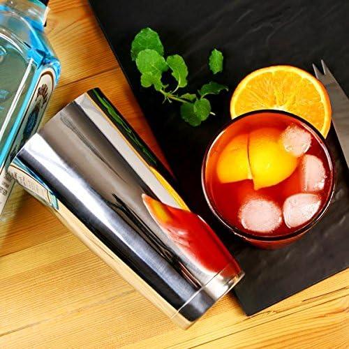 pestello scolapasta cucchiaio contorto 2 distributori di alcolici e un ricettario per cocktail contiene uno shaker Boston con bicchiere bar@drinkstuff Set di accessori per cocktail