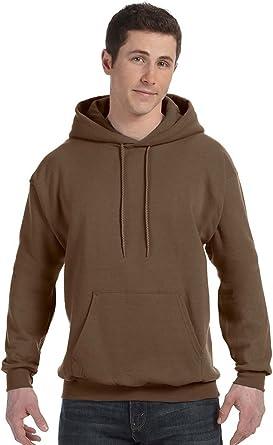 Hanes ComfortBlend Boys//Girls EcoSmart Hooded Sweatshirt with Media Pocket XL