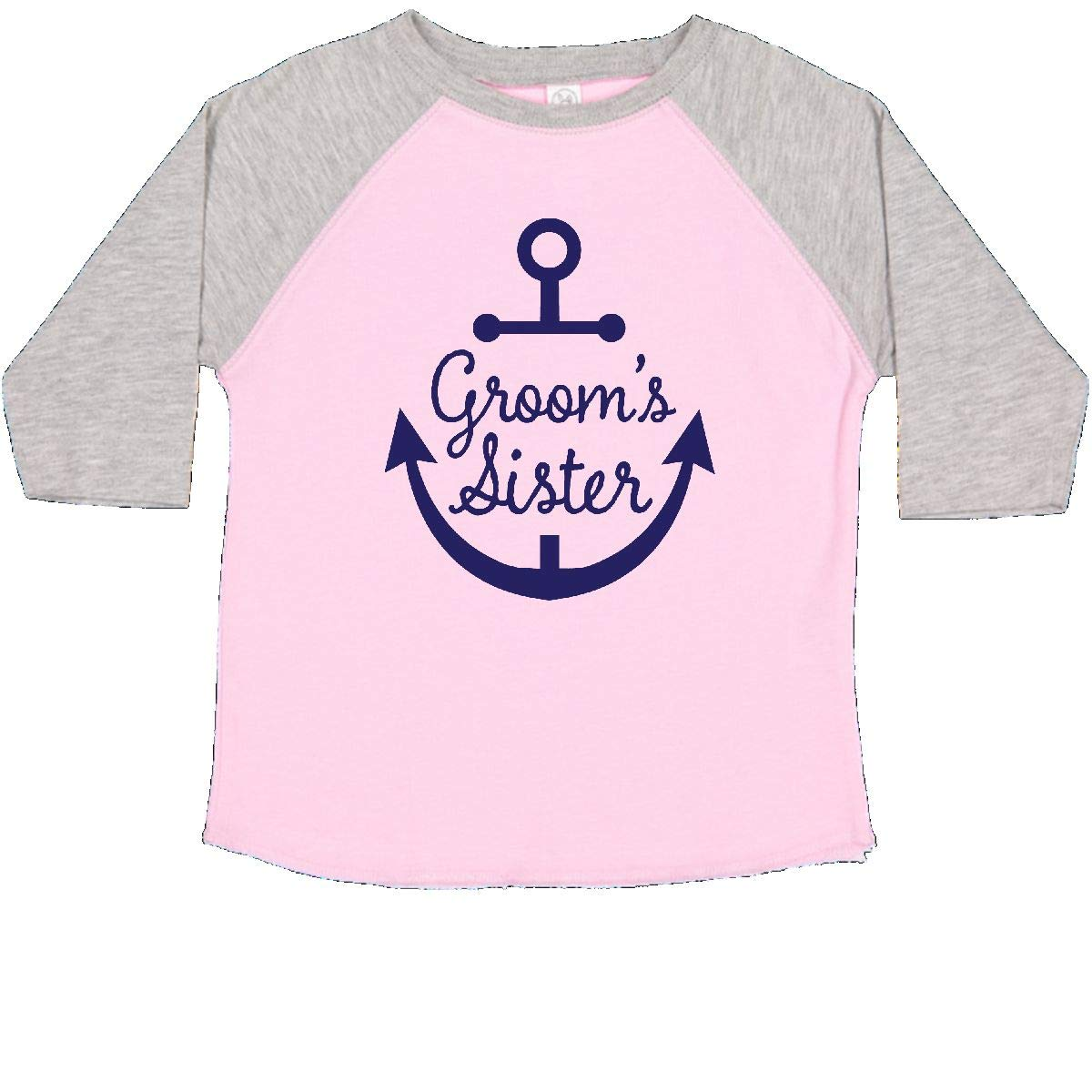 inktastic Grooms Sister Bridal Party Toddler T-Shirt