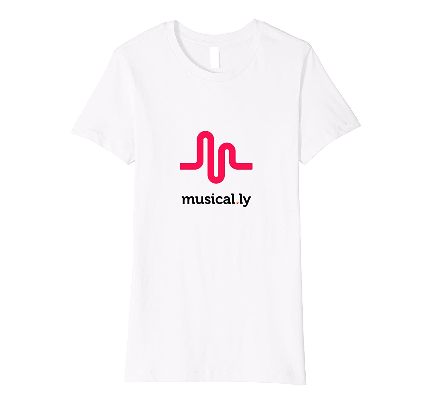 musical ly wave classic t shirt fitted cut this is why. Black Bedroom Furniture Sets. Home Design Ideas