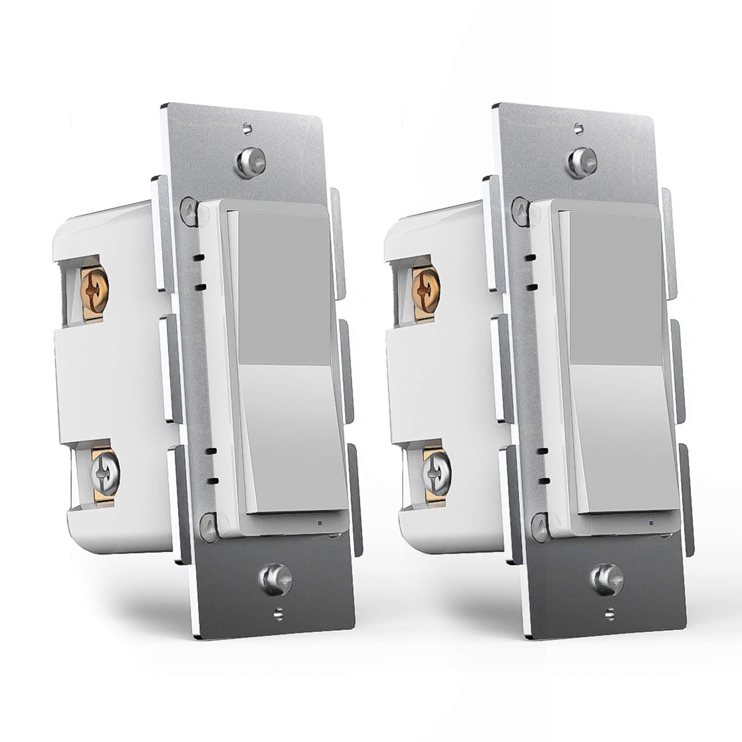 3-Way Smart WiFi Dimmer Light Switch, in-Wall, No Hub Required, Compatible with Alexa and Google Home, ETL and FCC Listed (WF31 2 Pack)