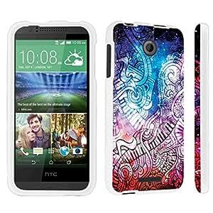 DuroCase ? HTC Desire 510 Hard Case White - (Space Music)
