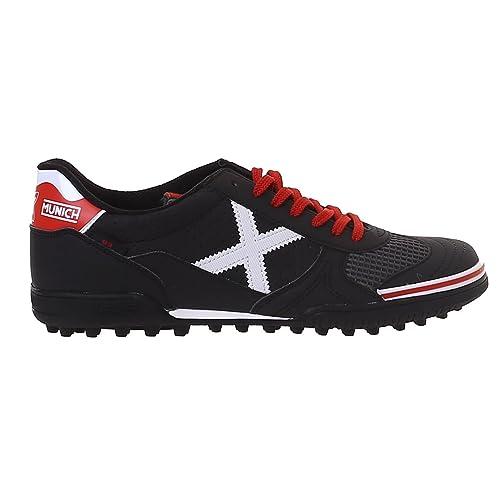 Munich Zapatilla de fútbol Sala Gresca Genius Turf Negro 3010581: Amazon.es: Zapatos y complementos