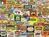 vintage puzzle - White Mountain Puzzles Vintage Foods & Drinks - 1000 Piece Jigsaw Puzzle