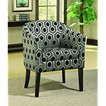 Coaster 900435 Transitional Accent Chair, Grey