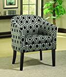 Coaster Home Furnishings Transitional Accent Chair, Grey