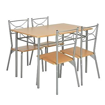 Rectangulaire4 Manger De Table Salle Emsemble Homycasa À W29YHeEDIb