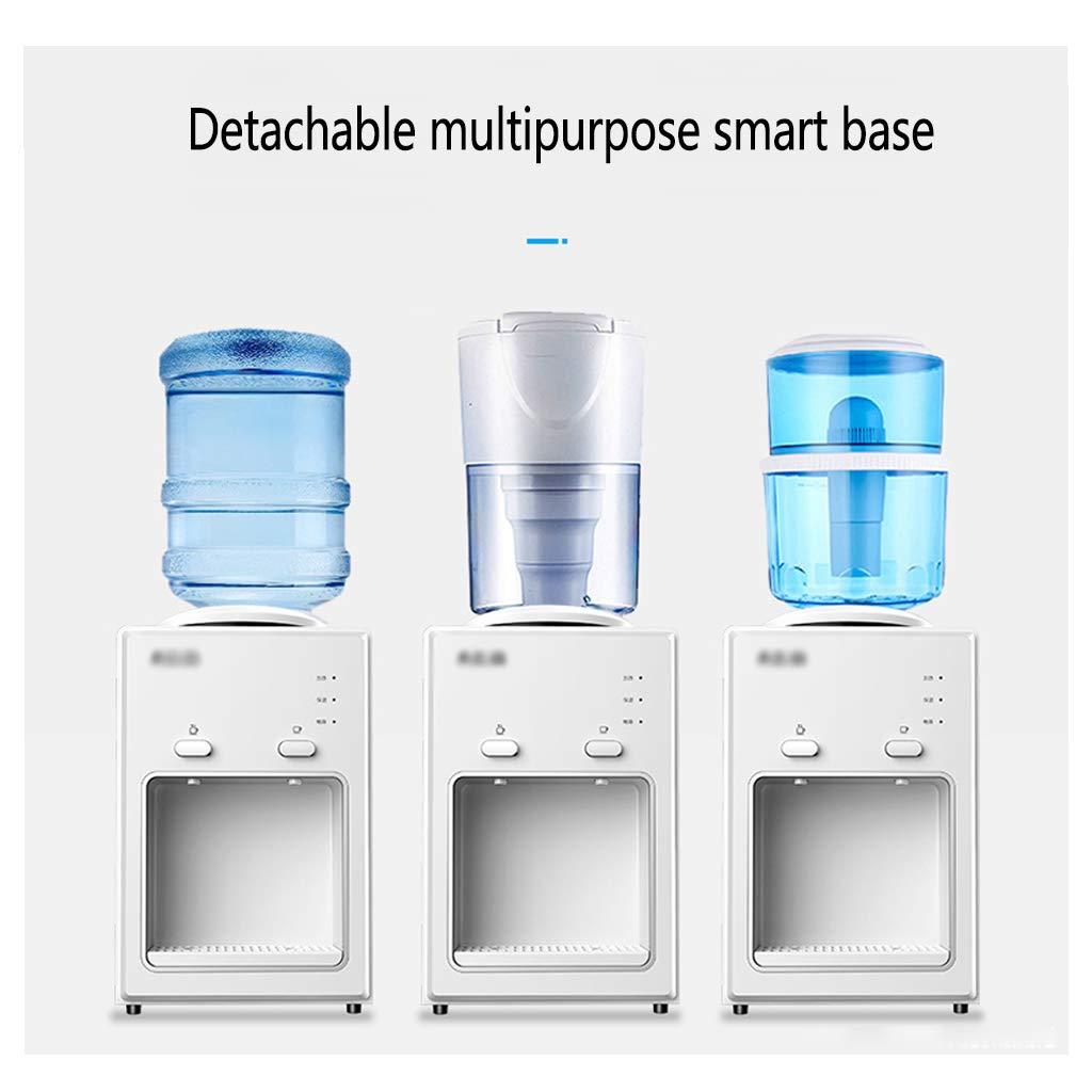 Dispenser di Acqua in Bottiglia Macchina per Acqua Desktop Elettrica Superiore Mini Piccolo Distributore da Banco Acqua Calda E Fredda Liner in Acciaio Inossidabile
