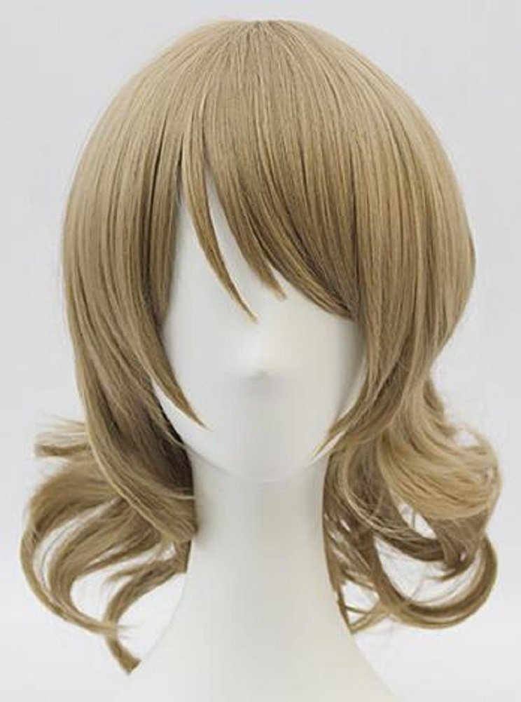 Cosplay wig wig hair NET comes with high-quality heat-resistant costume event Comiket costume school Festival men and women and for live sunshine Watanabe Yoko wind