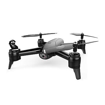 AHangcc Mini Drone RC WiFi FPV 3D Flips Cámara 1080P HD Camara ...