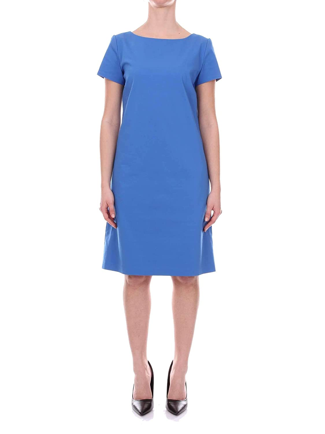 Diana Zini Women's 011956201090blueE bluee Cotton Dress
