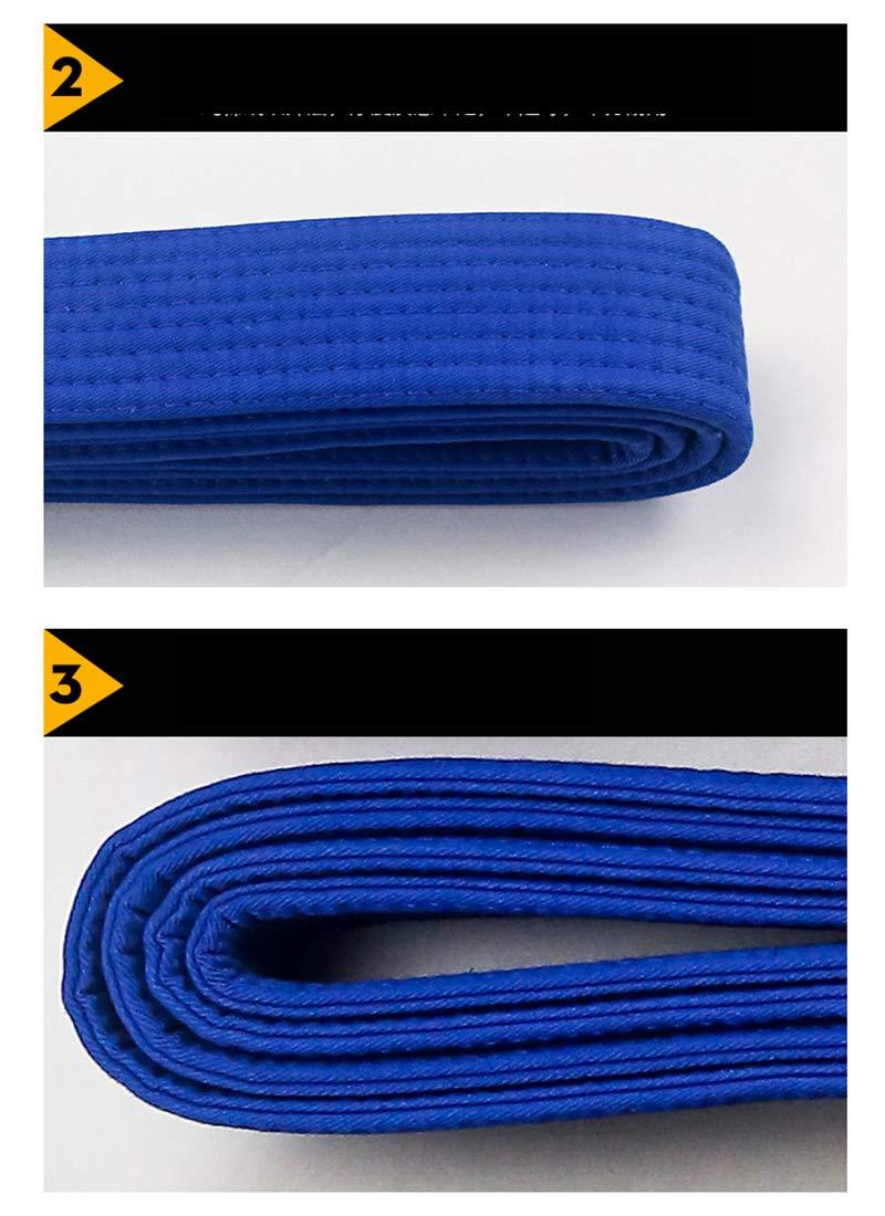 A3 FLUORY BJJ Belt A1 A4 A4 Viola Nero per Formato A0 Jiu Jitsu Cinture con Colore Bianco BTF01bai Marrone Blu A2
