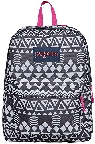 JanSport Unisex SuperBreak Black Geo Graphic One Size by JanSport (Image #1)