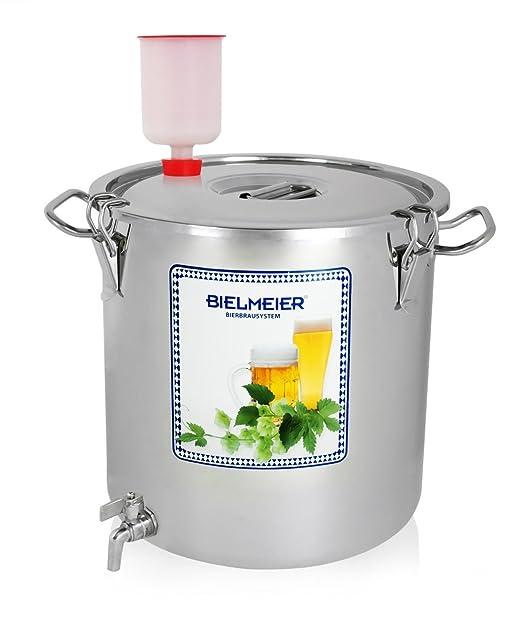 5 opinioni per Bielmeier 040002 Tino di chiarificazione e di fermentazione, con rubinetto, in