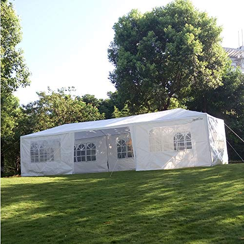Hyshina Portable Home Use Waterproof Tent White 3 x 9m Outdo