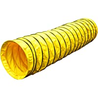 Cool Runners Agility Tuff Tunnel 15' Long, 8″ Pitch Manufactured From Rugged 16oz PVC - Ideal for Home Practice
