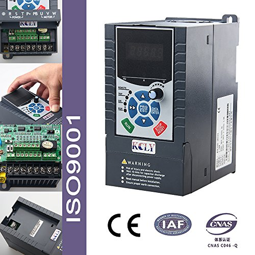 1.5KW 2HP VFD 7A 220V Single Phase Variable Speed Drive VSD Drive Inverter (Phase Hoist Single)