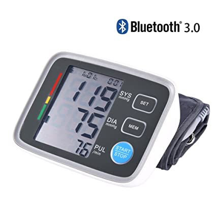 Brazo Tensiómetro – Bluetooth brazo Tensiómetro para uso doméstico