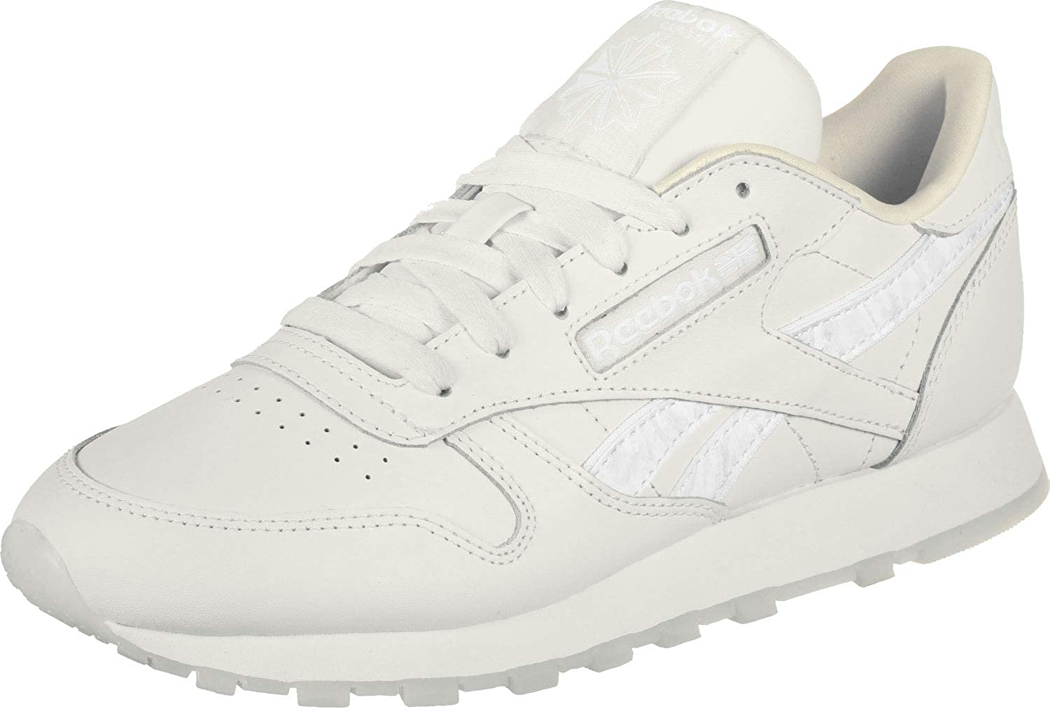 Reebok Damen Classic Leather Turnschuhe Kalk