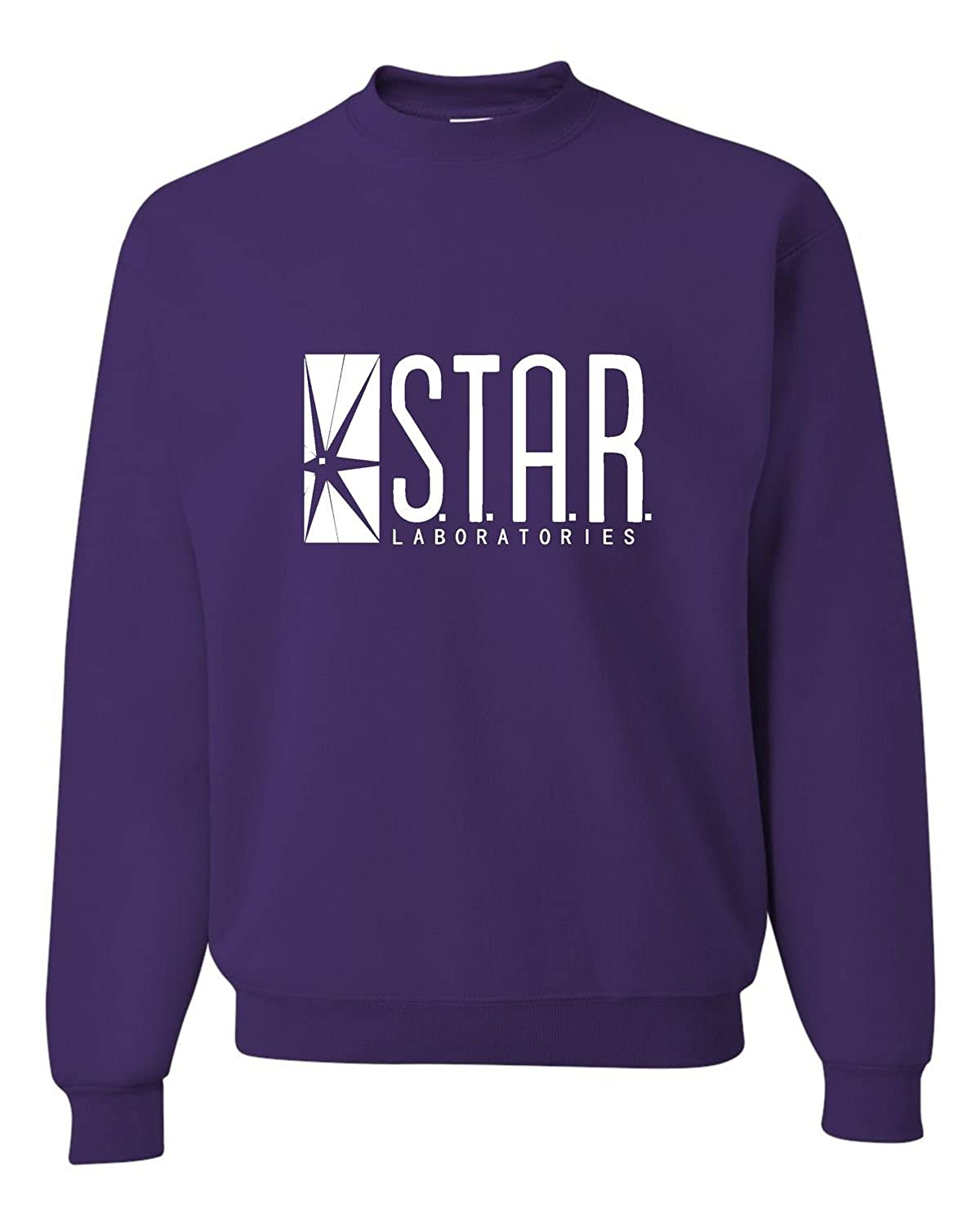 Amazon.com: Adult Star Labs Sweatshirt Crewneck: Clothing