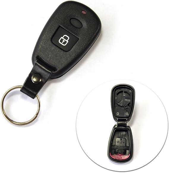 Ersatzgehäuse Für Autoschlüssel Für Hyundai Fernbedienung Schutzhülle 1 Knopf Santa Fe Accent Tucson Elan Auto