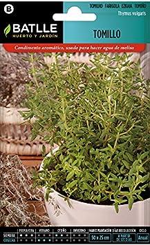 Semillas Aromáticas - Tomillo-Farigola - Batlle