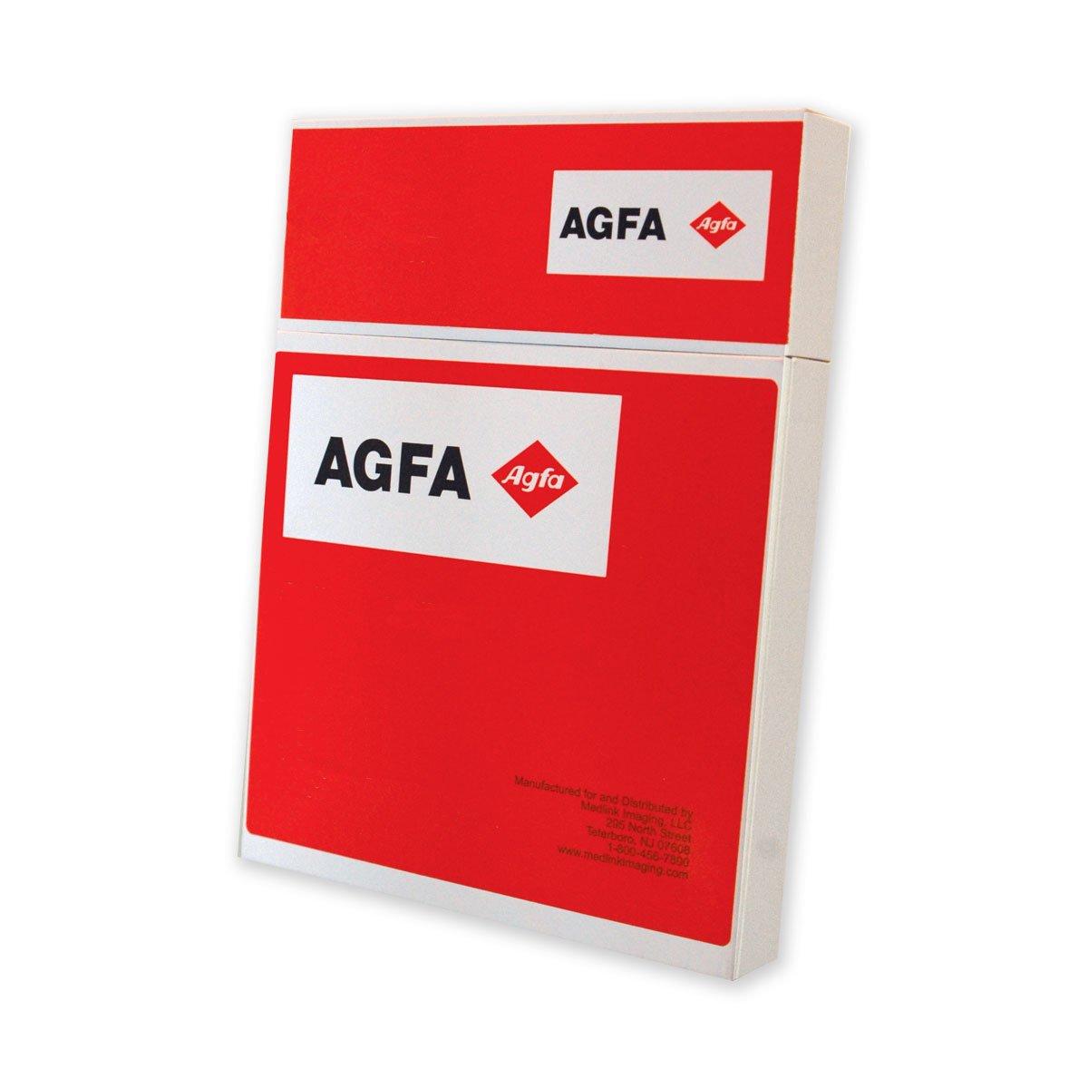 Image of X-Ray Film AGFA RADIOMAT PCB1012 X-Ray Film, Full Speed, 10' x 12', Blue Sensitive (Pack of 100)