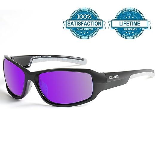 f7775ffdbd Polarized Sports Sunglasses for Men Women Ultralight Golf Tennis Baseball  Cycling Running Driving Fishing Glasses