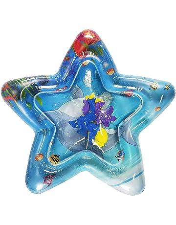 Teekit Colchoneta de Agua Inflable Fun Activity Play Center Almohadilla de Juguete para bebés, niños