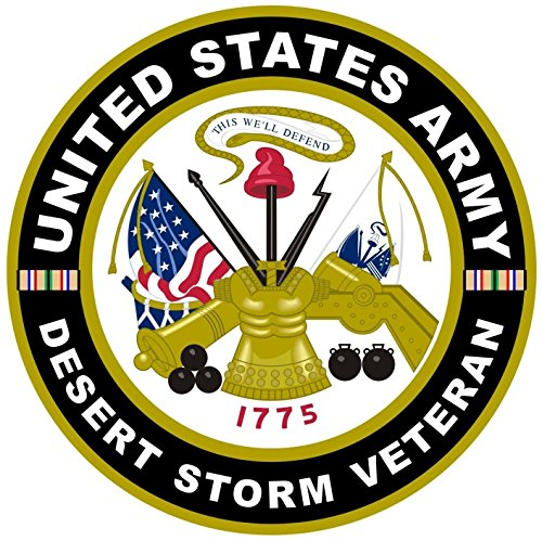 1 Pc Reliable Unique United States Army Retired Desert Storm Veteran 1775 This We'll Defend Stickers Sign Home Indoor Decal Wall Hoverboard Cars Vinyl Decor Trucks Window Sticker Size 12